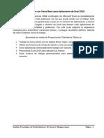Apuntes de Programacion Con Excel