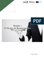 Modulo 1 - O Técnico de Restaurante.pdf