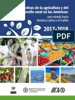 Perspectivas Agricultura y Desarrollo Rural 2017 2018