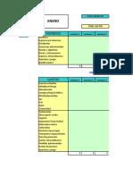Plantilla de Excel Para Contabilidad Domestica