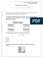 Guia matematica 6° Año A