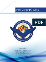 2015 Bar Review Primer
