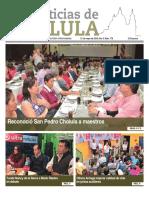 Noticias Cholula 21 de Mayo de 2018