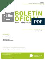 Boletín Oficial Provincia de Buenos Aires 23.05