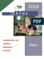 IESTec 2016 Fisica