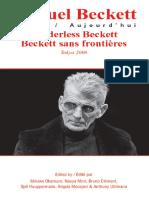 [Samuel Beckett Today_ Aujourd'hui] Minako Okamuro, Naoya Mori, Bruno Clément - Borderless Beckett _ Beckett sans frontières.  (2008, Rodopi).pdf