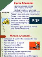 Minería Artesanal