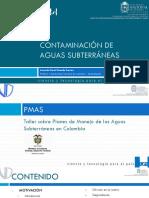 Contaminacion de Aguas Subterraneas Unal