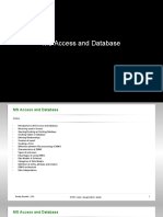 3497302 Ms Access and Database Fundamentals