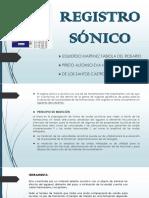 REGISTRO SONICO