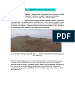Proceso Constructivo de Pachacamac