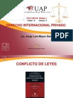 AYUDAS 4 - Conflicto de Leyes