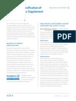 Asea Safety Classification Summary Brochure