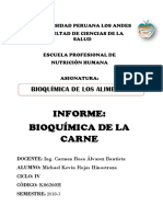Bioquimica de La Carne Informe