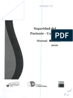 Manual de Seguridad Del Pciente