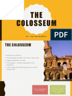 colosseum 3rd quarter powerpoint project