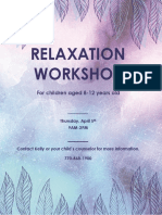 relaxation workshop schedule