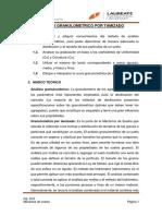 Analisis Granulometrico (Y)