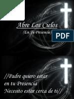 Abre los Cielos Hoy.ppt