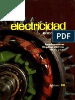 ELECTRICIDAD TEÓRICO PRÁCTICA Tomo IV. Transformadores. Máquinas eléctricas de corriente continua y corriente alterna