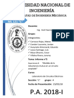 Informe 5 - Final