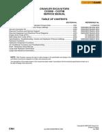 manual de excavadores case Cx350b y otros  , hidráulico