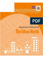 Prof. Vibhuti Patel on Gender Audit of Public Policy w.r.to Budgeting Process Urban-World-Oct-Dec-2015