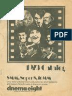 Cinema Eight 1973 Catalog