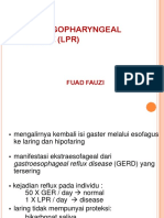 Laryngopharyngeal Reflux (Lpr) Fuad