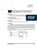 03 - Ladder Diagram - Timer,Counter Functions