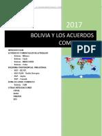 2018 Bolivia y Los Acuerdos Comerciales(2)