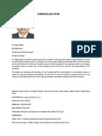 Dr Sagar Jawale CV