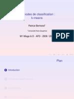 2009 - Méthodes de classification - k-means