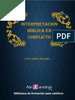 Ratzinger Joseph - Interpretacion Biblica en Conflicto - Alexandriae.org (1)