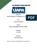 Tarea II Recursos Didacticos y Tecnologicos