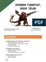 Crouching Powerpoint, Hidden Trojan