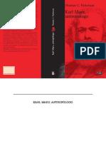 Patterson Thomas Karl Marx Antropologo