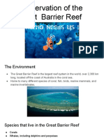 conservation of the great  barrier reef