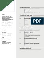 Comunicação_Currículo de Primeiro Emprego
