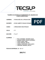 Diseño de Sistema de Transporte de Líquidos en Planta Industrial (1)