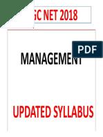Management Revised Syllabus
