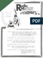Radio Mutoscope Studios August 1974