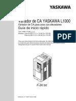 Manual Yaskawa L1000 Esp