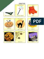 Tarjetas Cuento Halloween