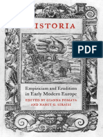 Gianna Pomata (Editor), Nancy G. Siraisi (Editor) - Historia_ Empiricism and Erudition in Early Modern Europe (Transformations_ Studies in the History of Science and Technology) (2006)