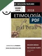 Capítulo I - Etimología