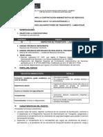 Cas 121-2018 - Inspector de Transporte - Lambayeque