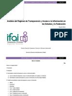 ANÁLISIS DEL RÉGIMEN DE TRANSPARENCIA Y ACCESO A LA INFORMACIÓN EN LOS ESTADOS Y LA FEDERACIÓN.pdf