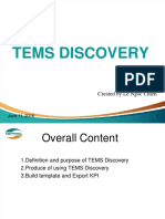 Introduction of TEMS Discovery