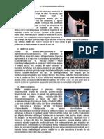 10 Danzas Clasicas y Contemporaneas y Bailes Populares